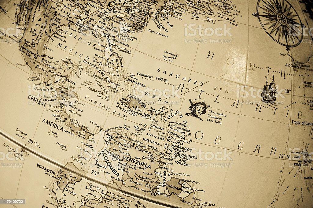 mundi map royalty-free stock photo