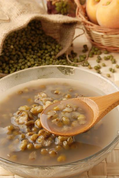 Mung Bean Dessert Soup stock photo