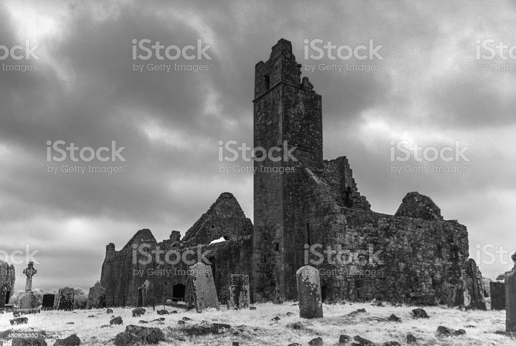 Mungret Abbey 1 stock photo