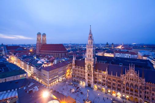 Munich at the evening
