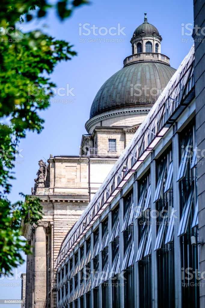 munich - bayrische staatskanzlei stock photo