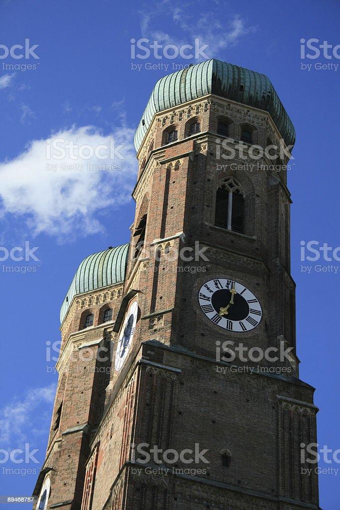 Мюнхенский собор Стоковые фото Стоковая фотография