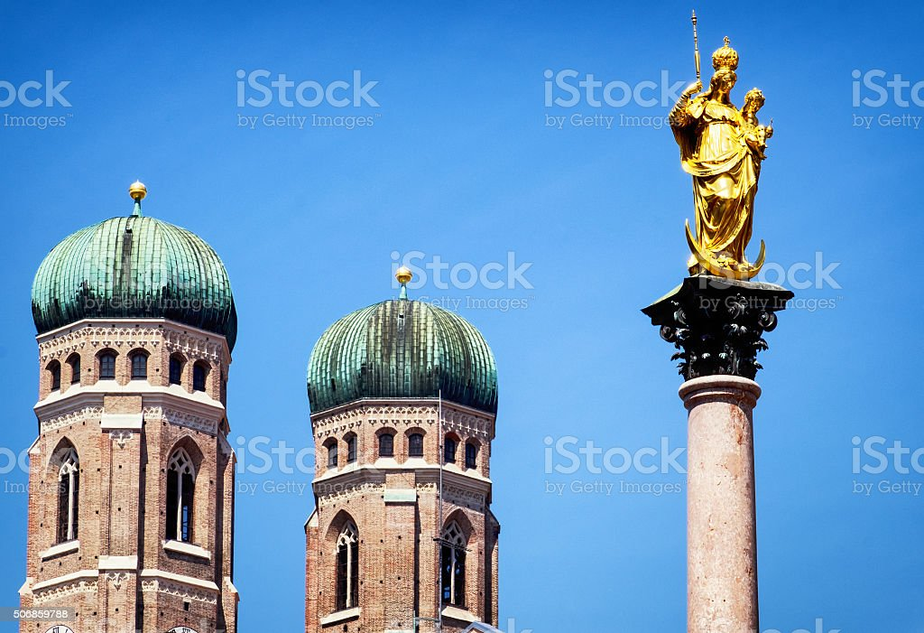 munich city hall stock photo