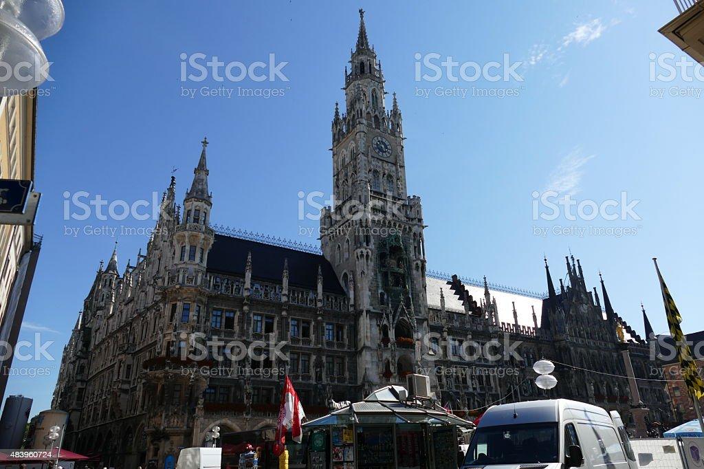 München, City Hall in Munich Kindel auf der tower-top – Foto