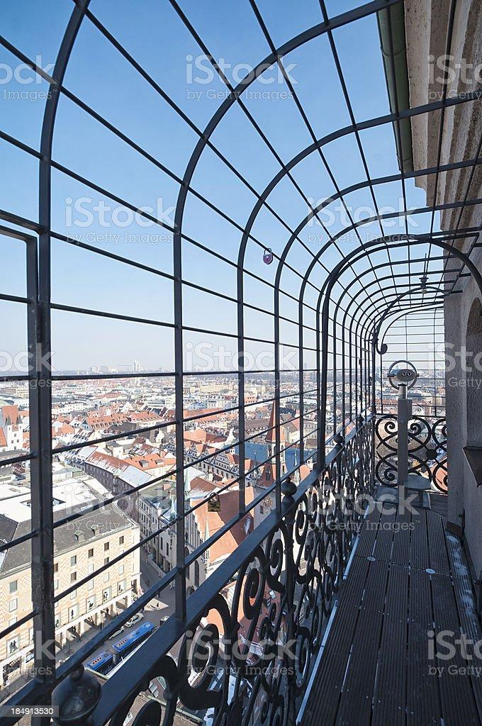 Munich City Viewpoint royalty-free stock photo
