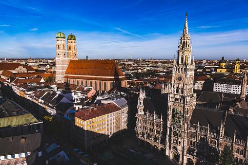 Munich during Oktoberfest time