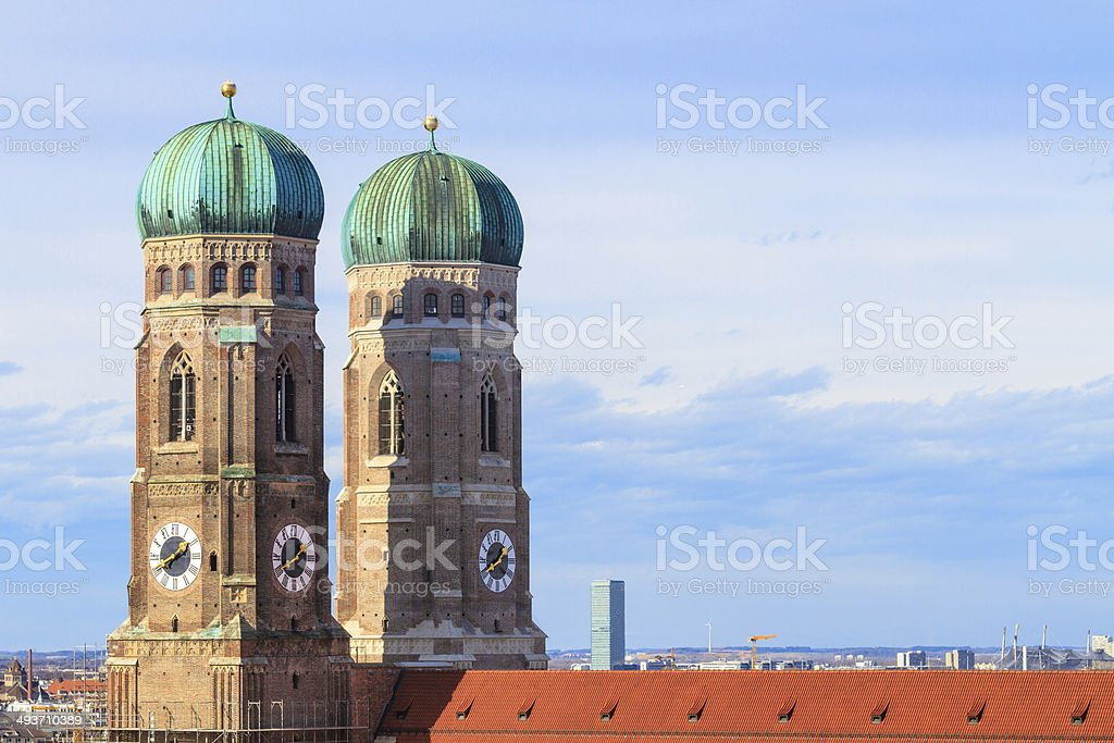 Munich, Frauenkirche, Cathedral of Our Dear Lady, Bavaria, Germa stock photo