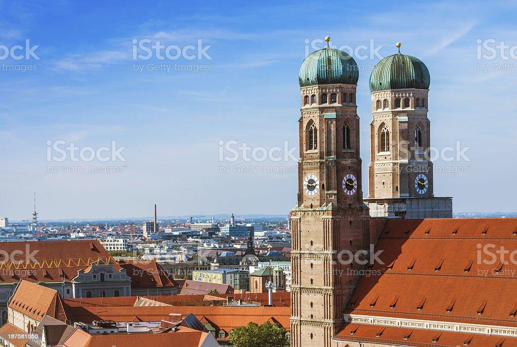 Munich, Germany - Frauenkirche stock photo