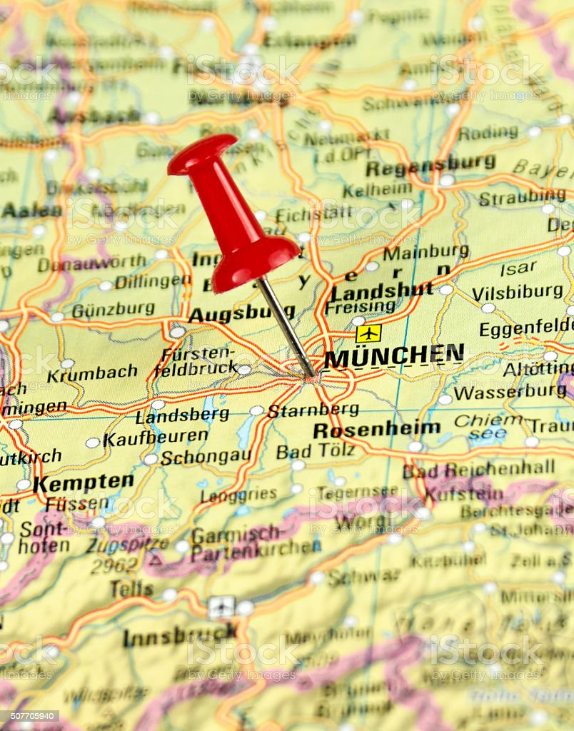 Map Of Zell Germany.Munich Germany Stock Photo Download Image Now Istock