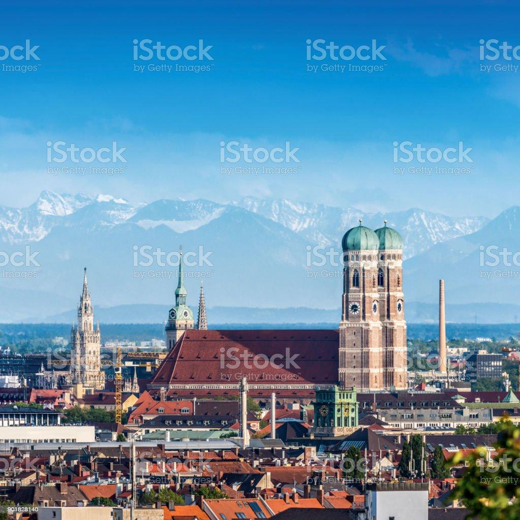 München, Deutschland - Lizenzfrei Alpen Stock-Foto