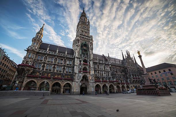 München skyline in der City Hall. – Foto