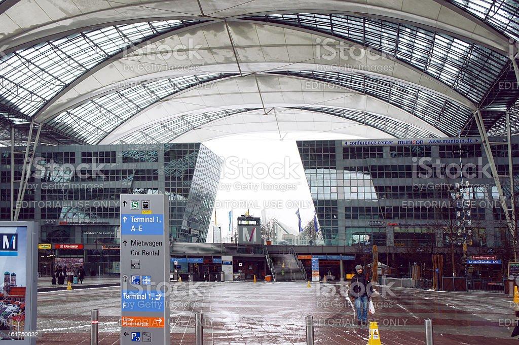 Aeropuerto Internacional de Munich - foto de stock