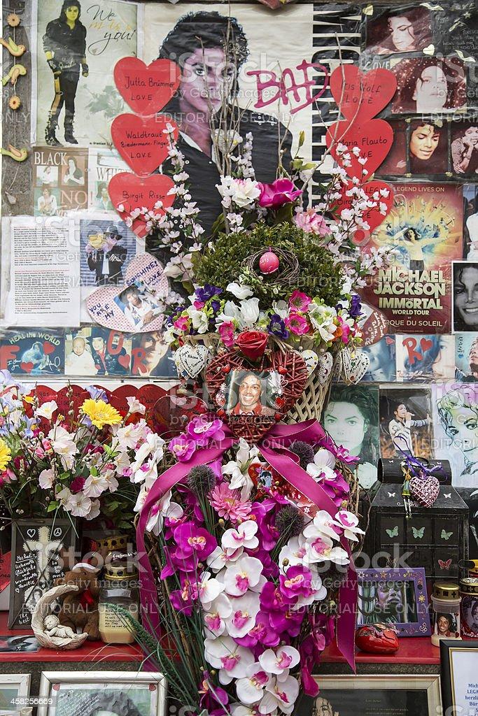 Munich - Michael Jackson Memorial stock photo