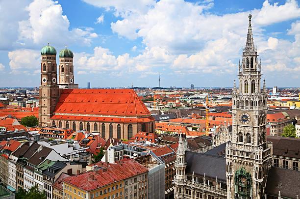 munich - sankt peterskyrkan münchen bildbanksfoton och bilder