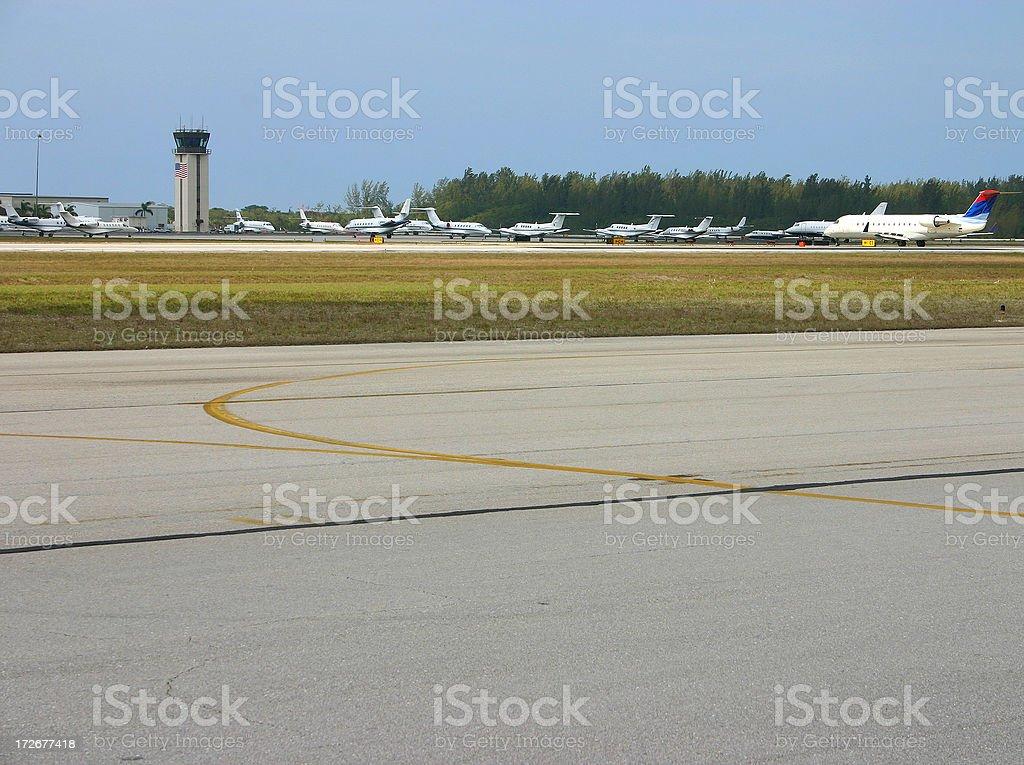 Municipal Airport stock photo