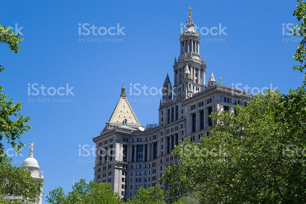 NYC municipal building stock photo