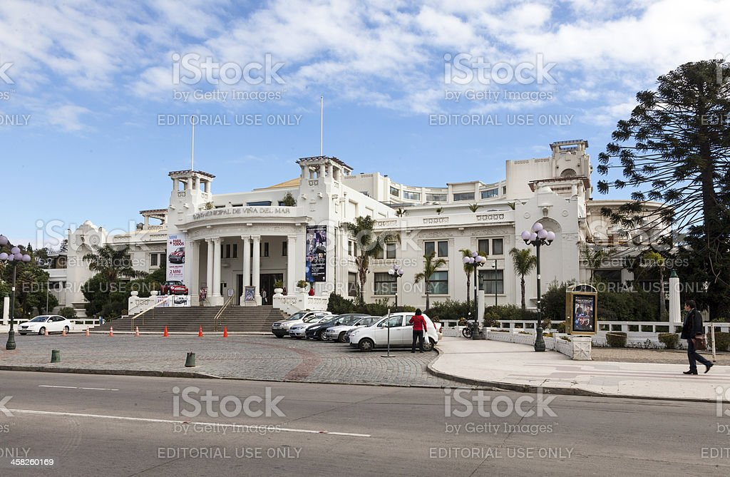 Municipal Casino stock photo