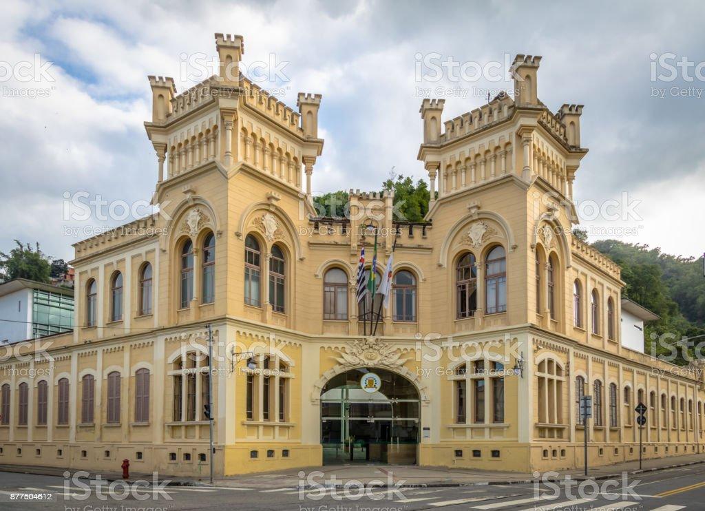 Municipal Chamber of Santos city also known as Castelinho (Little Castle) - Santos, Sao Paulo, Brazil stock photo