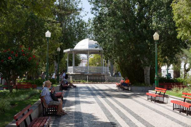 Stadtpark und Musikpavillon in Tavira - Portugal – Foto