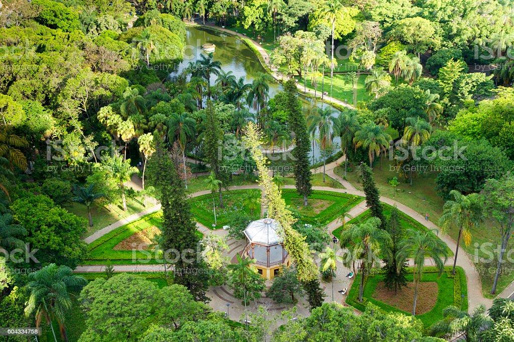 Municipal Park of Belo Horizonte, Minas Gerais, Brasil stock photo