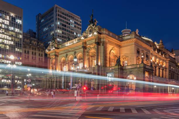 Stadttheater aus Sao Paulo – Foto