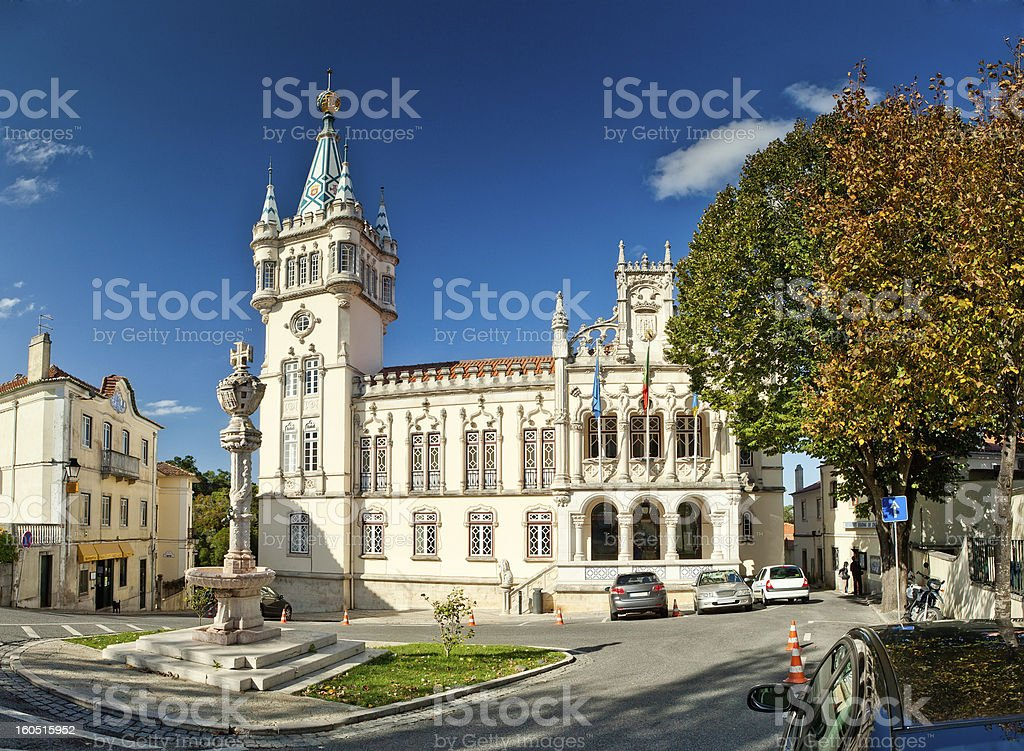 Municipality of Sintra (Camara Municipal de Sintra), Portugal stock photo