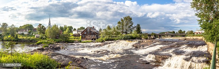Panoramic view of Municipality of Ste-Jeanne-d'Arc, Saguenay-Lac St-Jean, Quebec, Canada