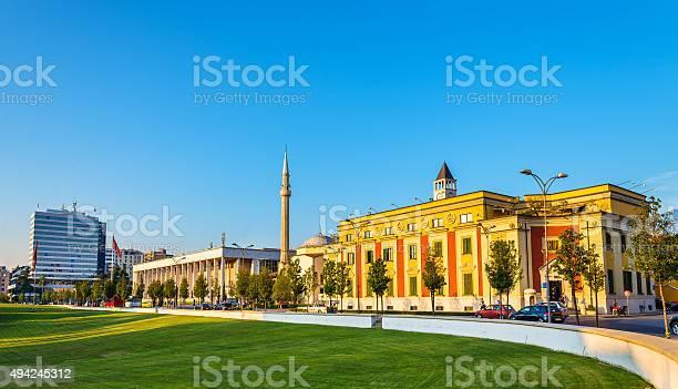 Municipality of Tirana and Palace of Culture - Albania