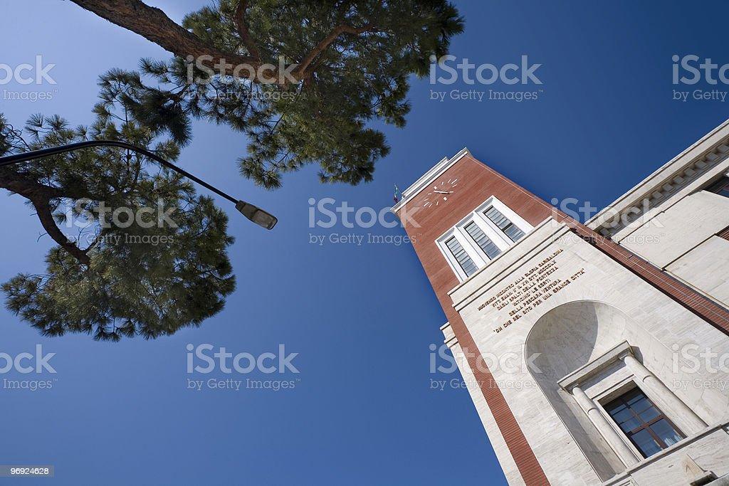 Municipio di Pescara royalty-free stock photo