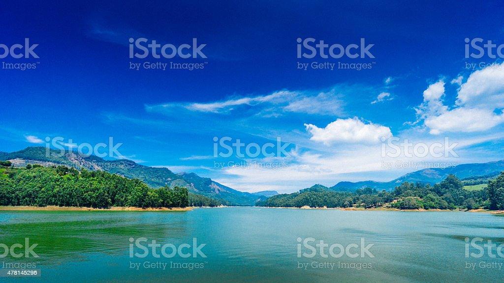 Munnar stock photo