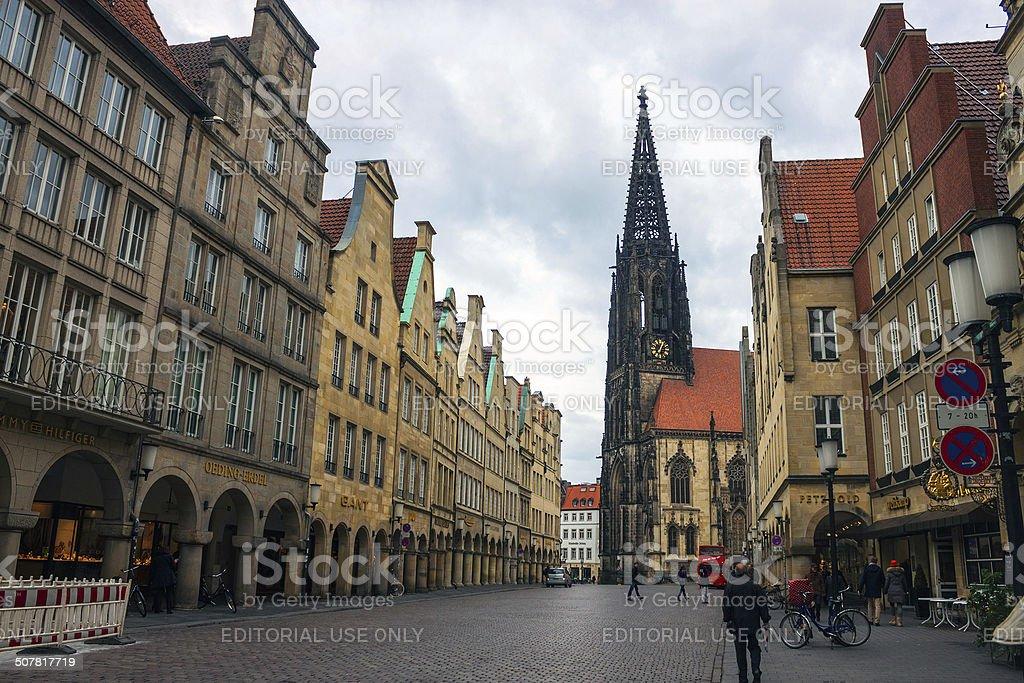 Munster, Germany stock photo