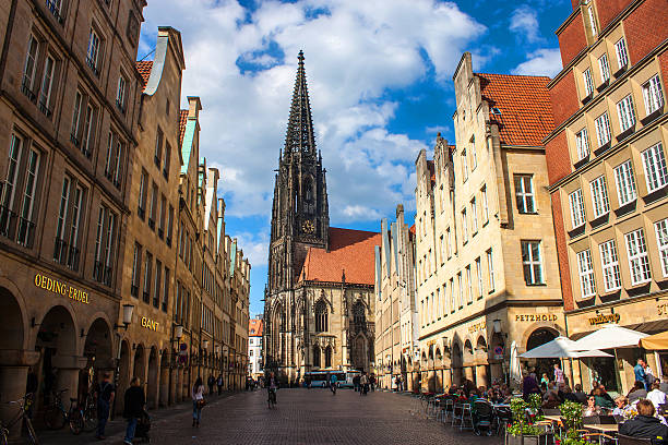 Munster, Germany stock photo
