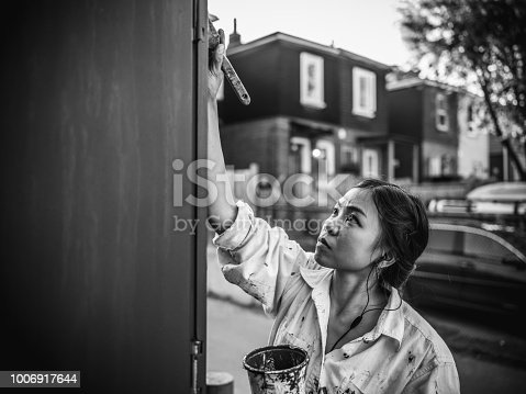1002918466 istock photo Mural artist at work 1006917644