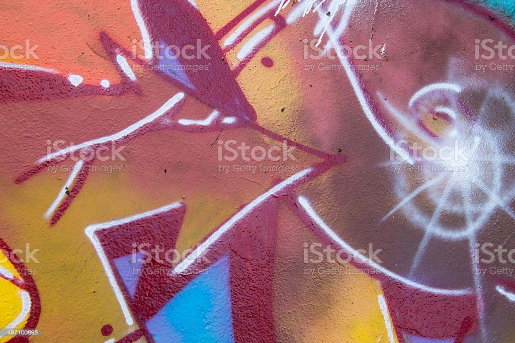 Murales sfondo colorato royalty-free stock photo