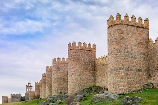Murallas De Ávila Stock Photo - Download Image Now