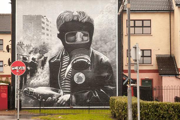 Murals in Derry