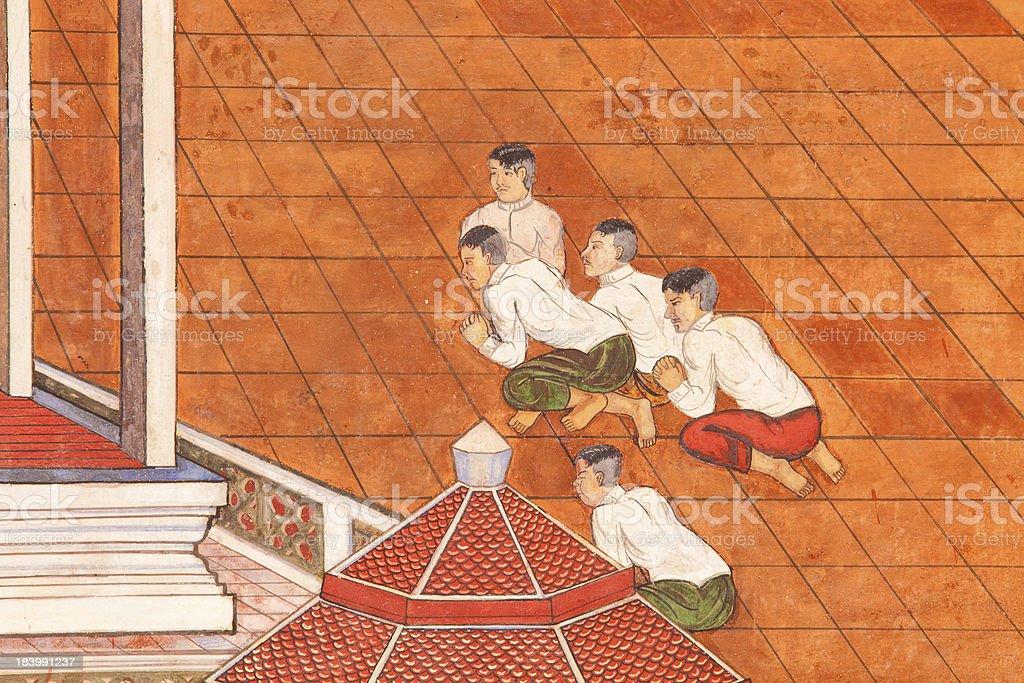 Murals royalty-free stock photo
