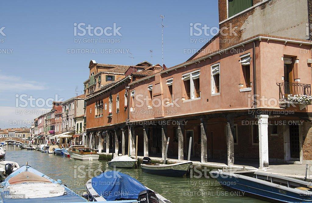 Murano, Venice royalty-free stock photo