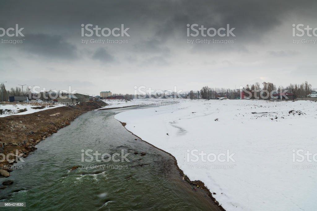 Murat River zbiór zdjęć royalty-free