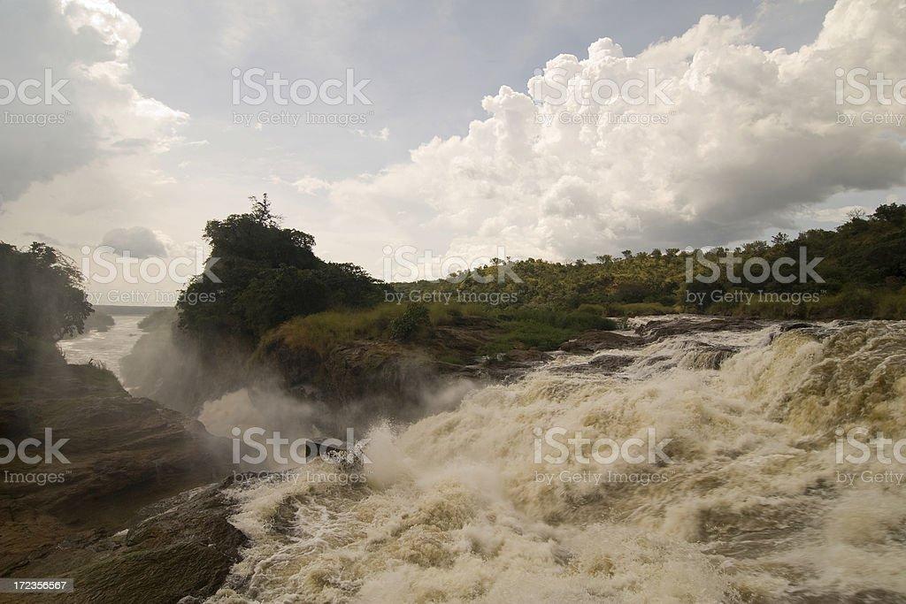 Murchison Falls, Uganda royalty-free stock photo