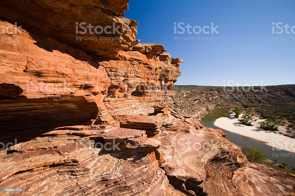 Murchison River Gorge stock photo