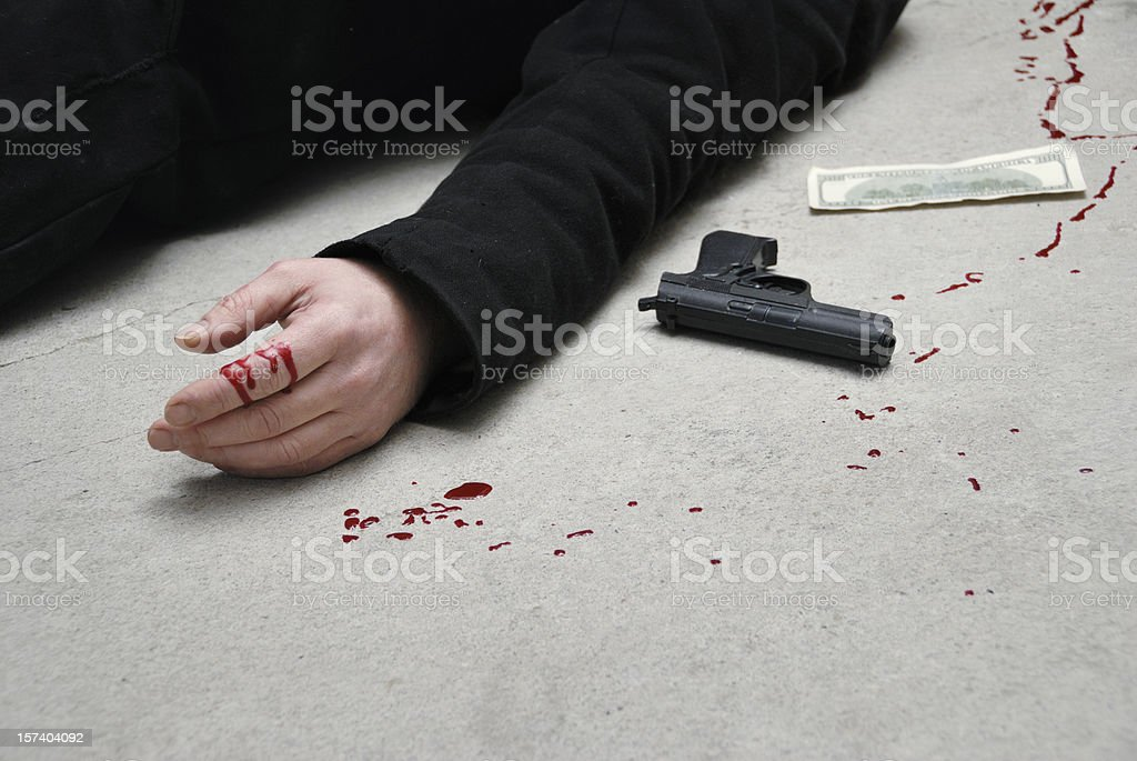 murder stock photo