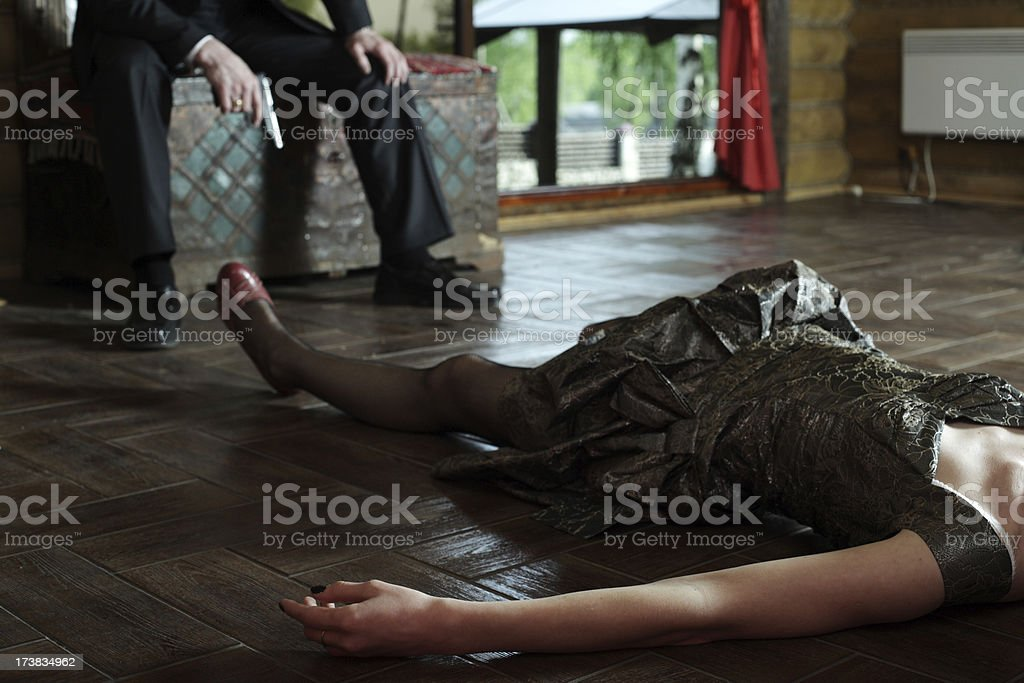 murder royalty-free stock photo