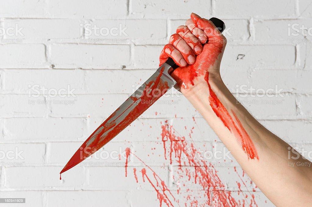 Murder weapon stock photo