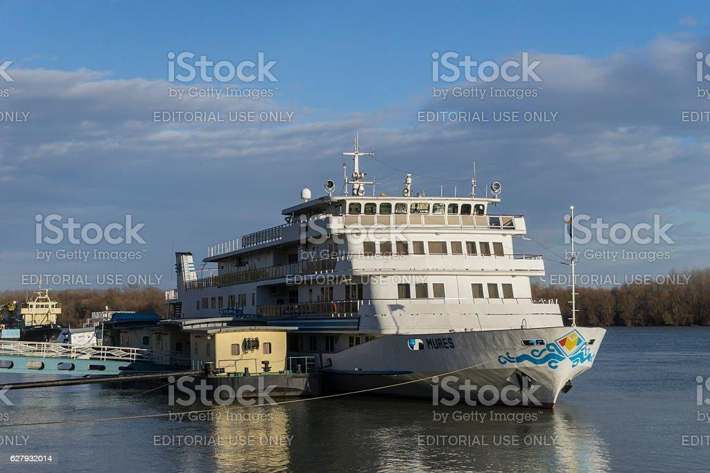Mures vessel stock photo