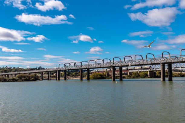 Murray Bridge stock photo