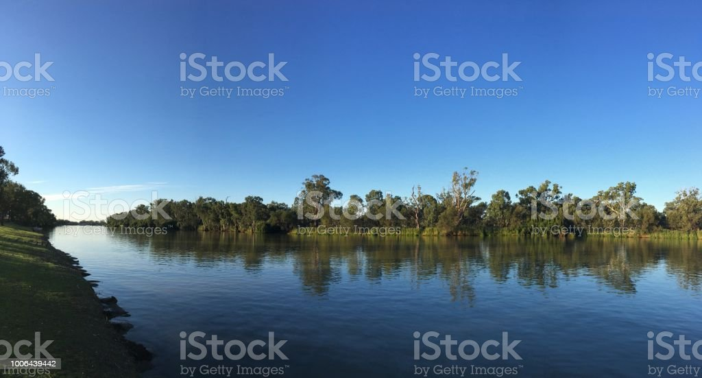 Murray river, South Australia stock photo