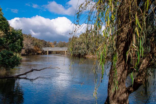 Murray River - Victoria/NSW Border stock photo