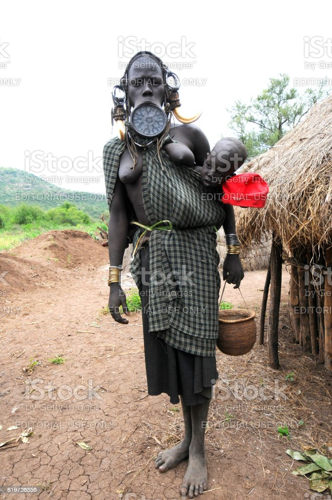 Mursi stock photo