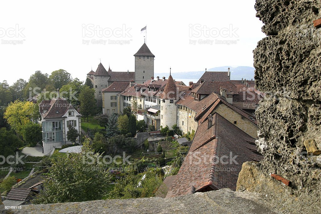 Murten stock photo